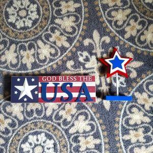 🎈5/$10 USA decor
